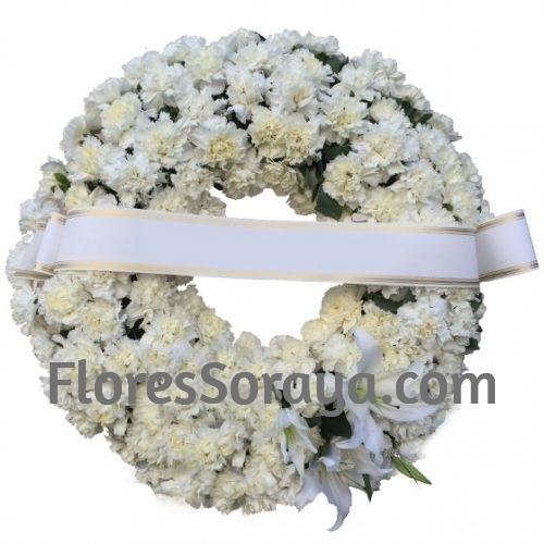 Corona Funeraria Clavel