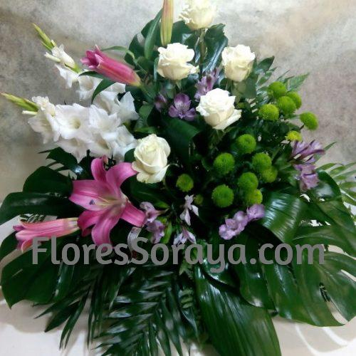centro de flores para funeral